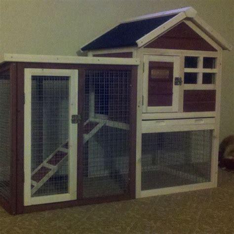 advantek stilt house rabbit hutch amazon com advantek the stilt house rabbit hutch pet habitats patio lawn garden