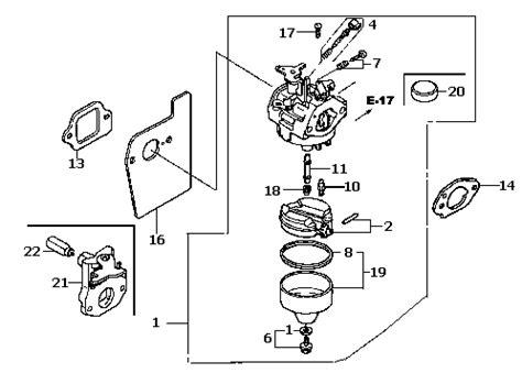 honda gvc160 carburetor diagram honda harmony carburetor diagram honda get free image