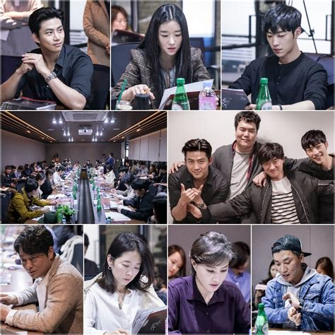 film drama korea save me first script reading for ocn drama series save me