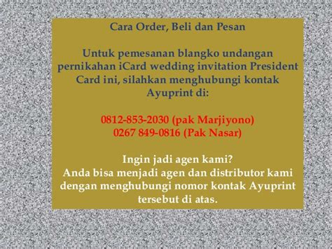 Blangko Undangan Nikah Pernikahan Fatih 17 blangko undangan card color