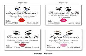 permanent makeup business cards business cards by johnny mar at coroflot