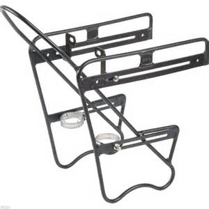 zefal bicycle front pannier rack black universal