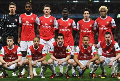 arsenal squad 2010 the invincible gunners arsenal fc why manchester united