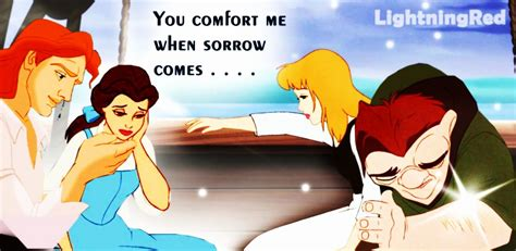 you comfort me you comfort me when sorrow comes disney crossover photo