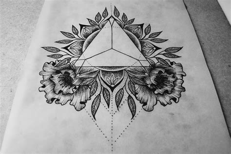 tattoo mandala triangle architect turned tattoo artist builds structured imagery