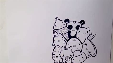 doodle kucing tutorial cara menggambar doodle tutorial for everyone