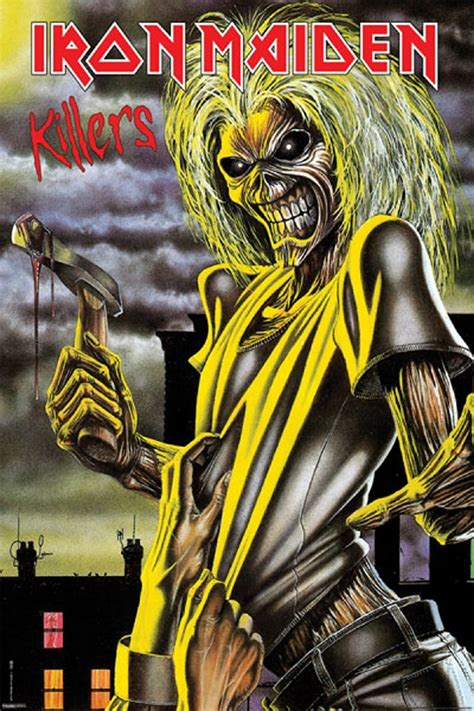 Home Decor Germany by Iron Maiden Killers Poster