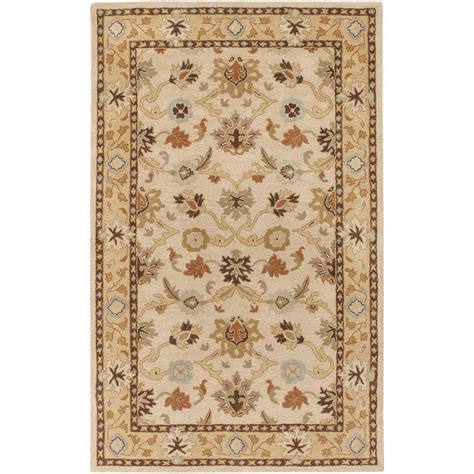 home accent rug collection home decorators collection melrose beige 2 ft 6 in x 4