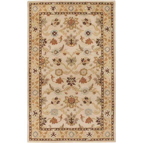 echelon area rug home decorators collection echelon beige 4 ft x 6 ft area rug 8784730420 the home depot