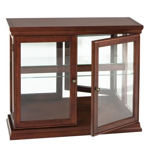 Small Curio Cabinet With Glass Doors View Larger