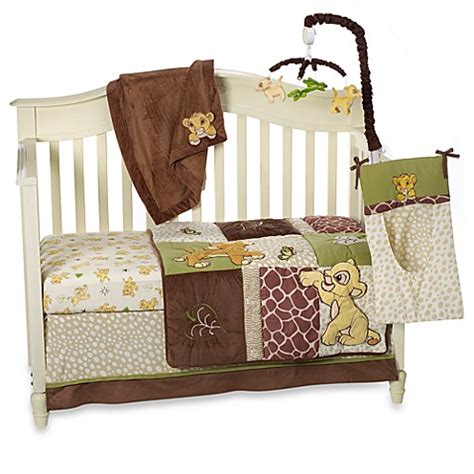 Disney Baby 174 Lion King Go Wild Crib Bedding Collection Simba Crib Bedding Set