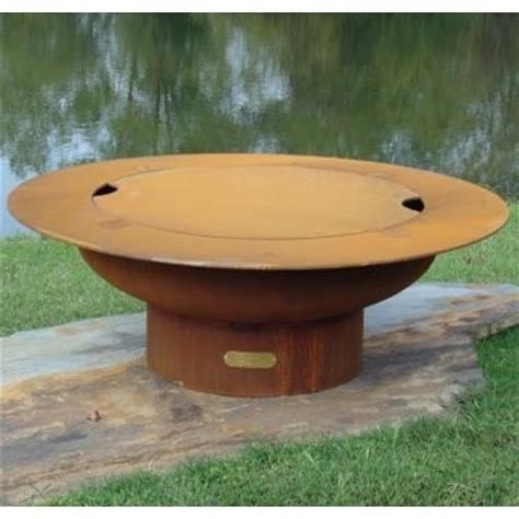 Outdoor Pit With Lid Saturn Outdoor Pit With Lid Atistically Crafted