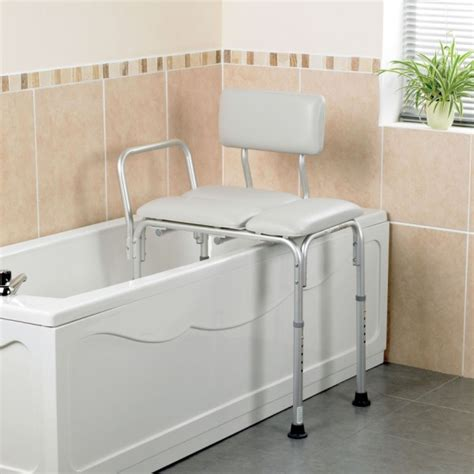 wide bath seat transfer bench