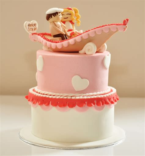 Wedding Anniversary Cake Design by 2 Year Anniversary Cakes Cake Decotions