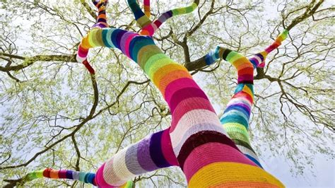 knitting tree germany s guerilla knitters germany