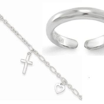 best toe ring anklet products on wanelo
