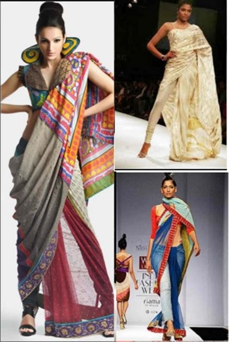 saree draping new styles latest saree draping styles make a trend