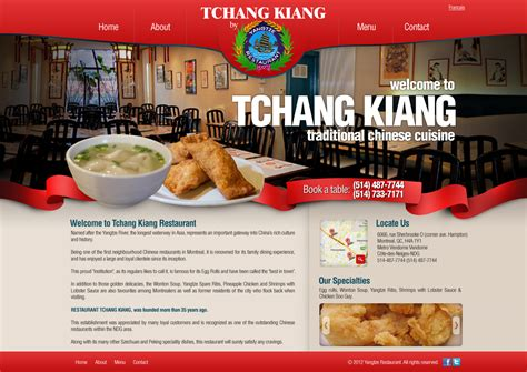 restaurant website layout design restaurant website designs