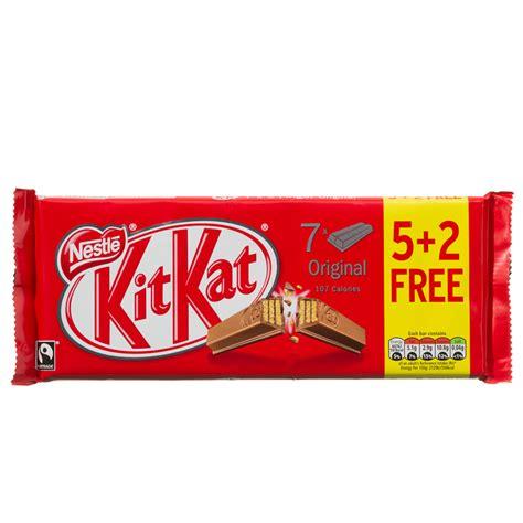 Kitkat 12 2 Free nestle kitkat 5 2 free 145 6g chocolate biscuits