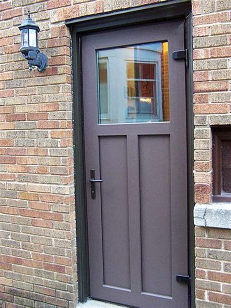 Exterior Metal Door Exterior Steel Doors Outswing For The Home Pinterest