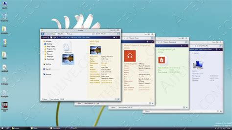 visual themes for windows 8 1 windows 8 1 pro preview 5112 theme preview 2 by athenera