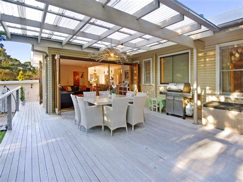 outdoor area outdoor living design with balcony from a real australian