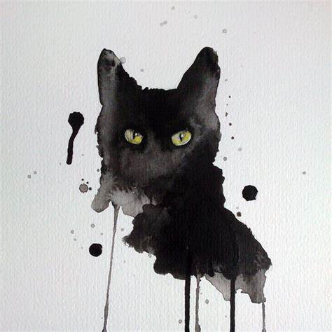 cat painting tips 25 best ideas about watercolor cat on
