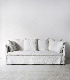 white linen sofa cover best 25 slip covers ideas on slipcovers