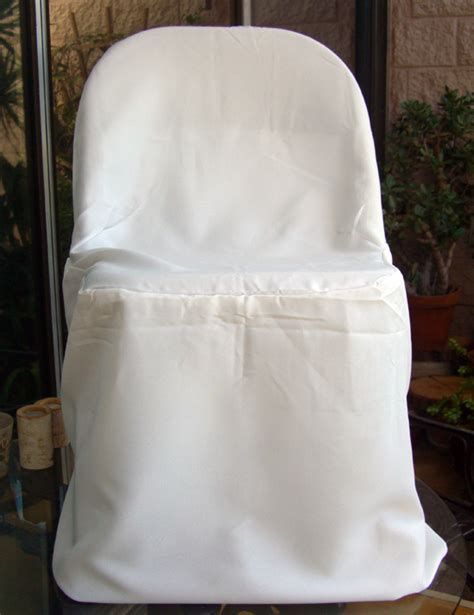 Paper Folding Chair Covers - ivory folding chair covers pack of 10