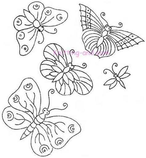 free butterfly hand embroidery pinterest the world s catalog of ideas