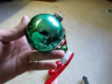 cleaning vintage christmas ornaments and advice youtube