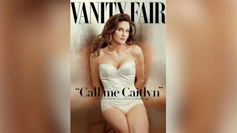 What Does Vanity Fair by Caitlyn Jenner Formerly Known As Bruce Poses For Vanity