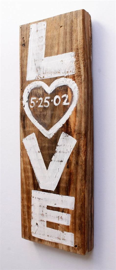 personalised home decor custom rustic white wedding sign decor personalized by