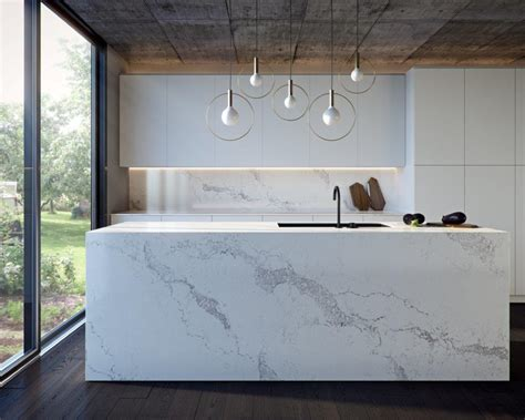 caesar stone bench caesarstone statuario maximus the kitchen and bathroom blog