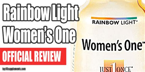 rainbow light s one review rainbow light s one multivitamin review