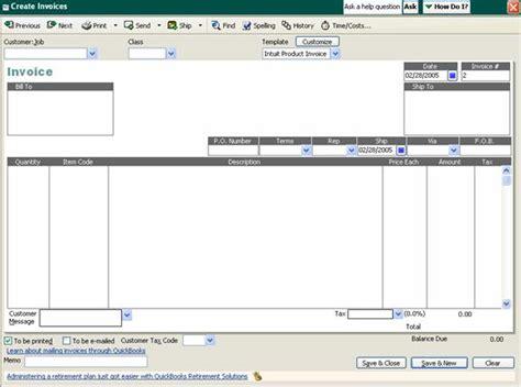 quickbooks invoice templates quickbooks invoice templates images