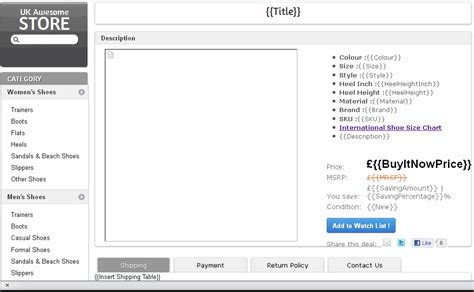 100 ebay listing template software ebay live chat