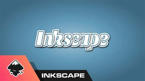 inkscape lettering tutorial inkscape for beginners text styling tutorial youtube