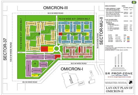 layout plan delta 2 greater noida layout plan of omicron ii greater noida hd map