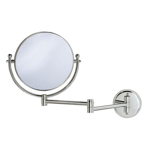 shop gatco chrome brass wall mounted vanity mirror at