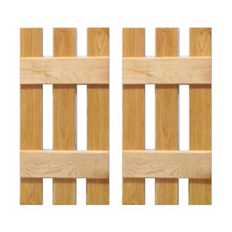 design craft millworks 12 in x 31 in cedar baton