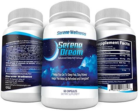 melatonin before bed sleep aid pills with melatonin from serene dream best