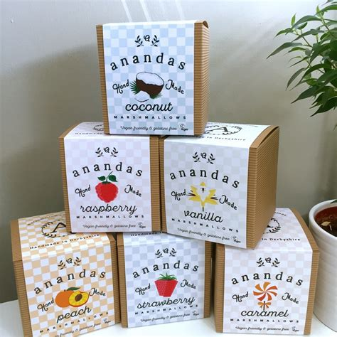Handmade Marshmallows Uk - ananda foods vegetarian gelatine free vegan marshmallows