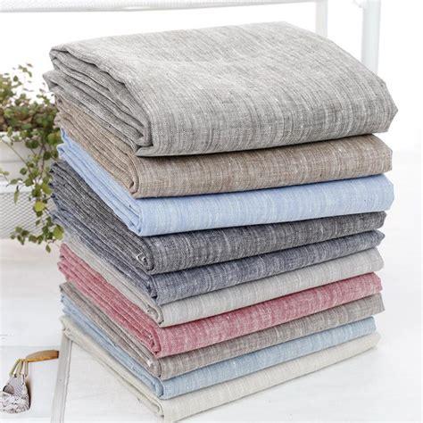 Handmade Cloth - aliexpress buy 2015 fabrics new linen fabric