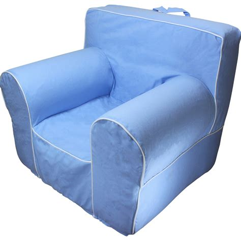 Oversized Anywhere Chair by Insert For Pottery Barn Anywhere Chair With Light Blue Cover Fit Oversize Chair Ebay