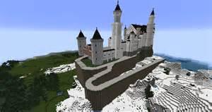 Round Staircase Designs Interior Minecraft Neuschwanstein Castle By Minecraftarchitect90