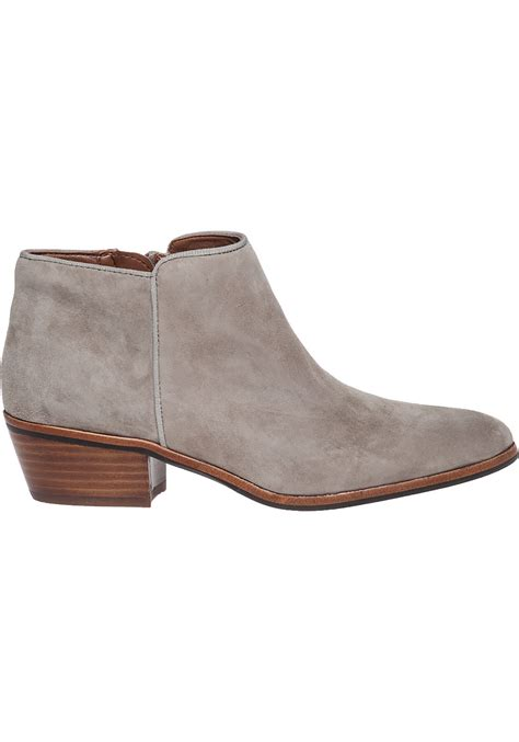 sam edelman petty boots sam edelman petty suede ankle boots in gray putty suede