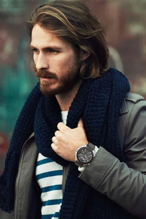 Long Hairstyles for Men   WardrobeLooks.com