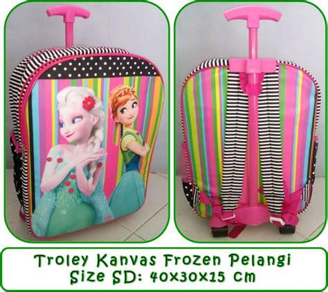 Tas Resleting Kantong Frozen just shop tas sekolah anak perempuan