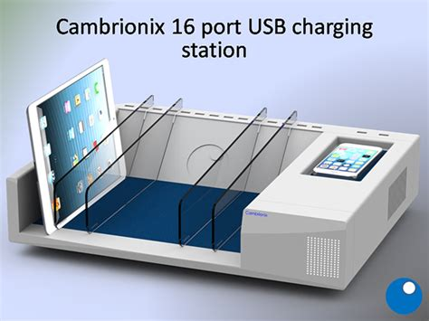 charging station for electronics 16 usb dock charger on behance